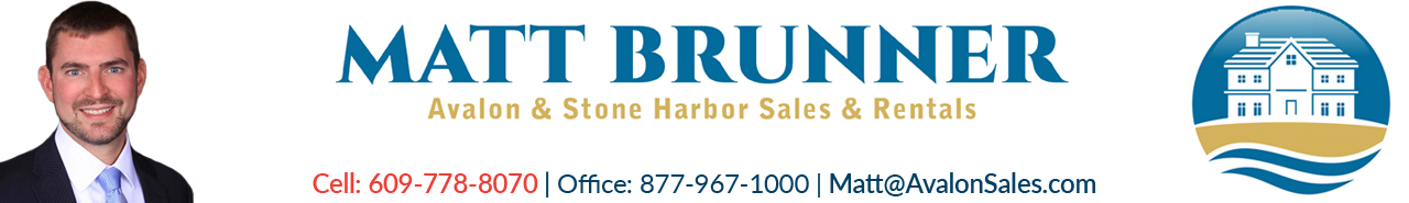 Matt Brunner Avalon and Stone Harbor NJ Real Estate