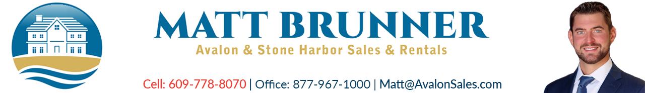 Matt Brunner Avalon and Stone Harbor NJ Real Estate