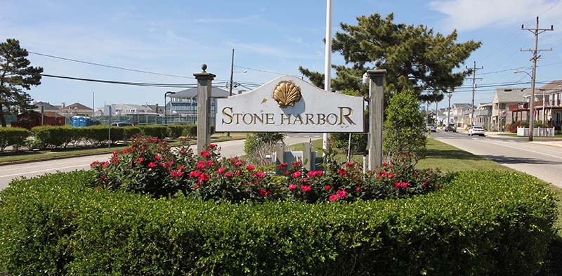 stone harbor 80th st sign